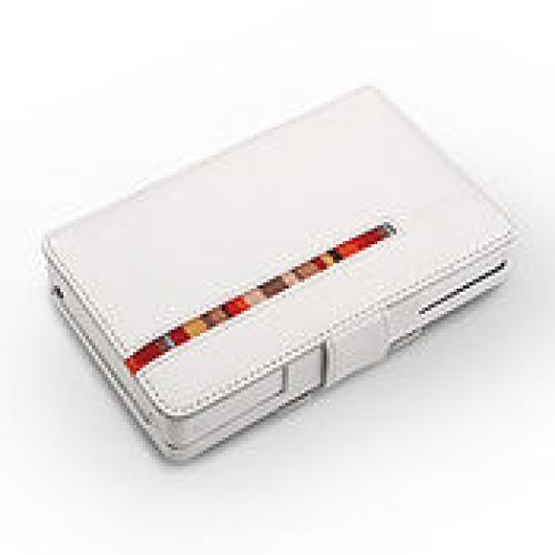 Cowon O2 Leather case white